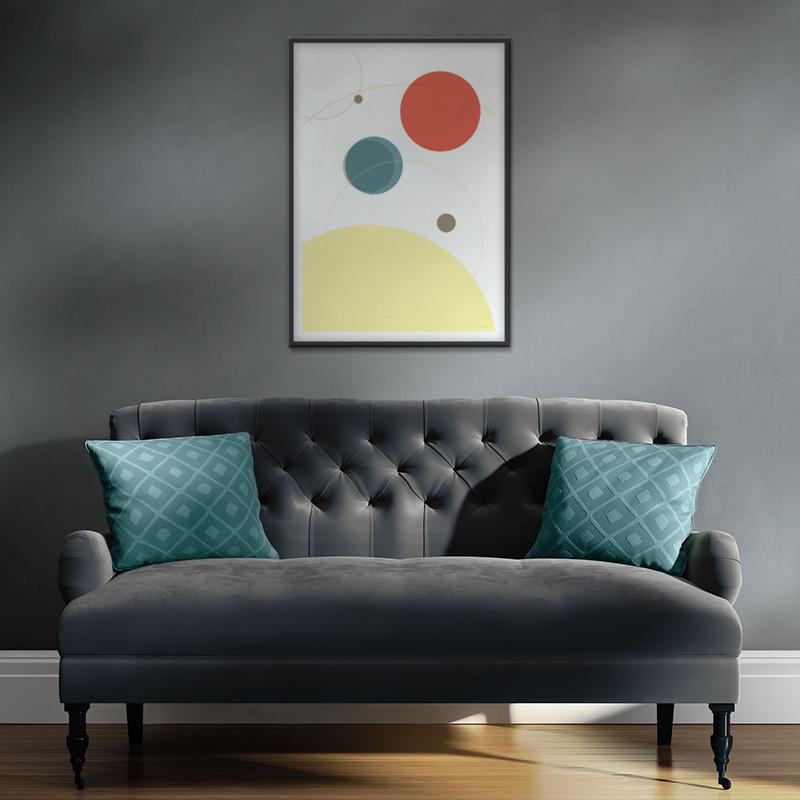 Affiche planètes minimalistes