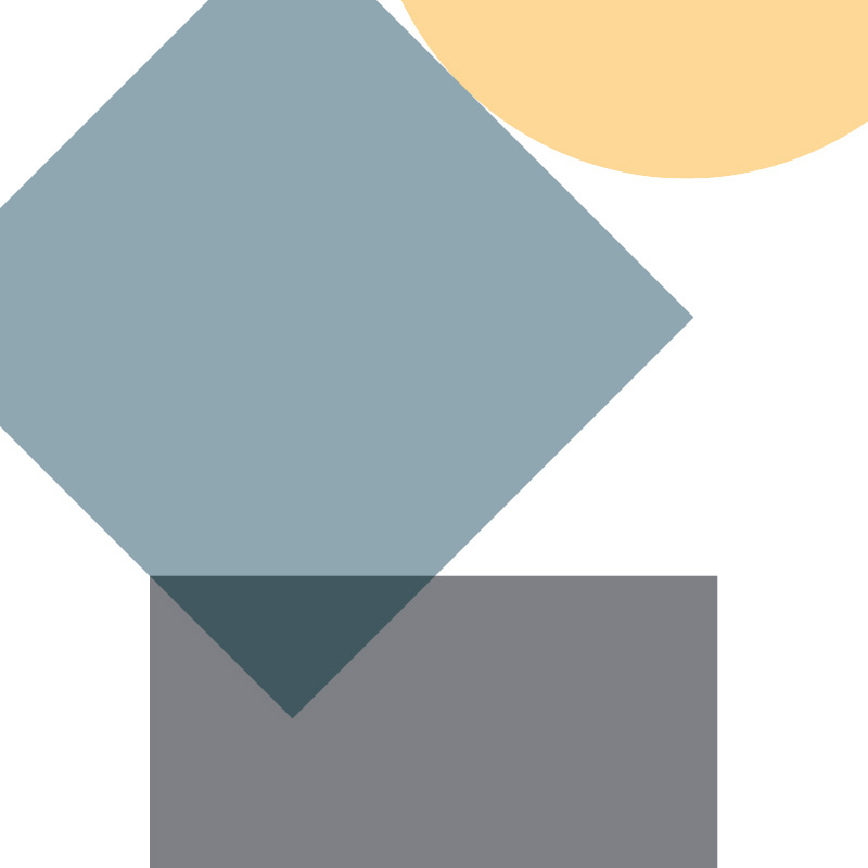 Affiche géométrique minimalistes simple