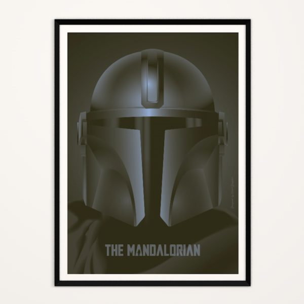 Poster Le Mandalorien
